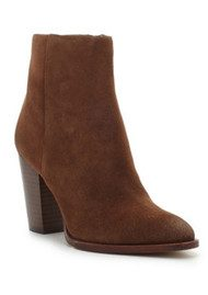 Sam Edelman Blake Suede Ankle Boot - Woodland Brown