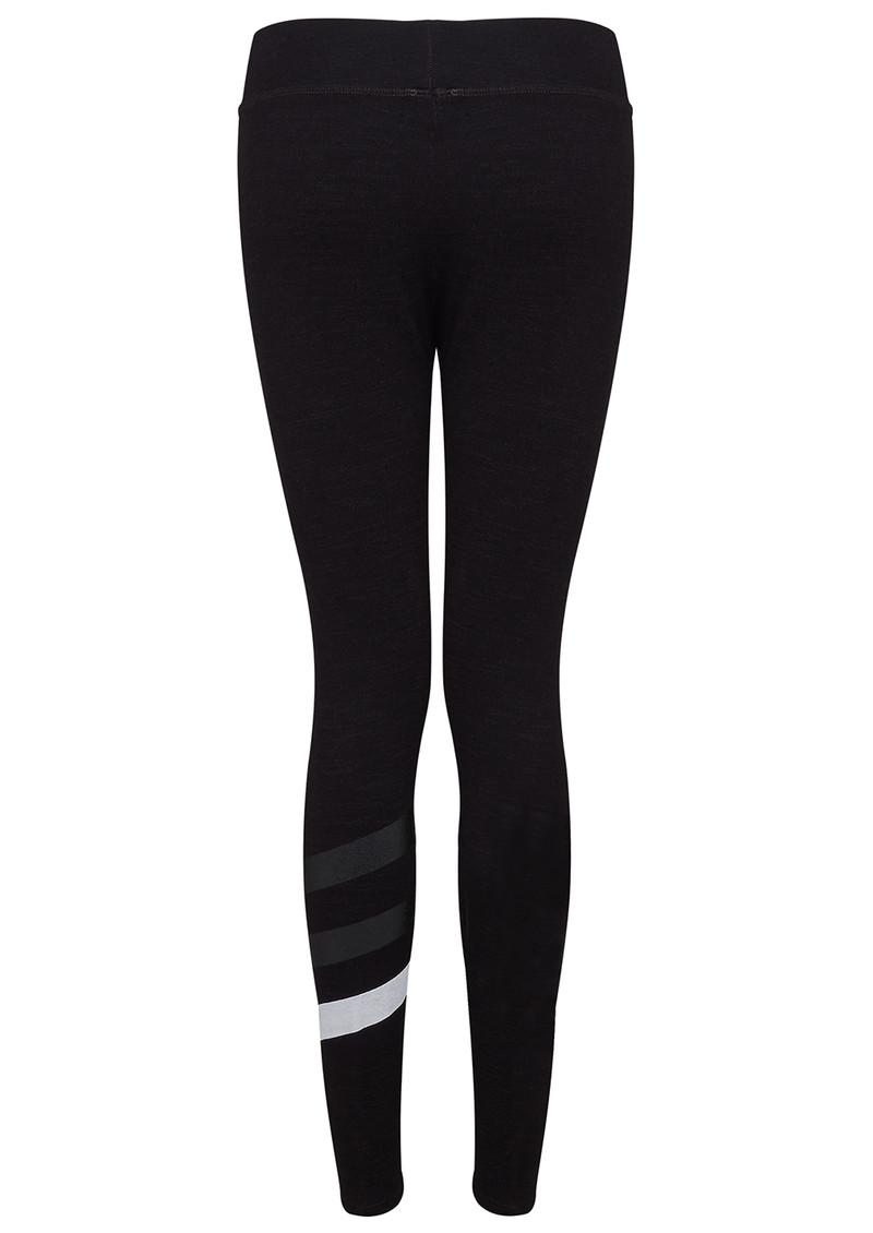 SUNDRY Stripes Yoga Pant - Old Black main image