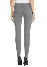 J Brand Zion Mid Rise Skinny Jeans - Distressed Silver Fox