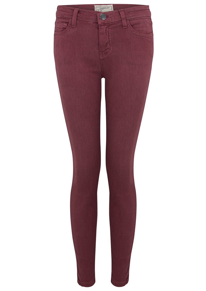 Current/Elliott The Stiletto Skinny Jean - Mulberry main image