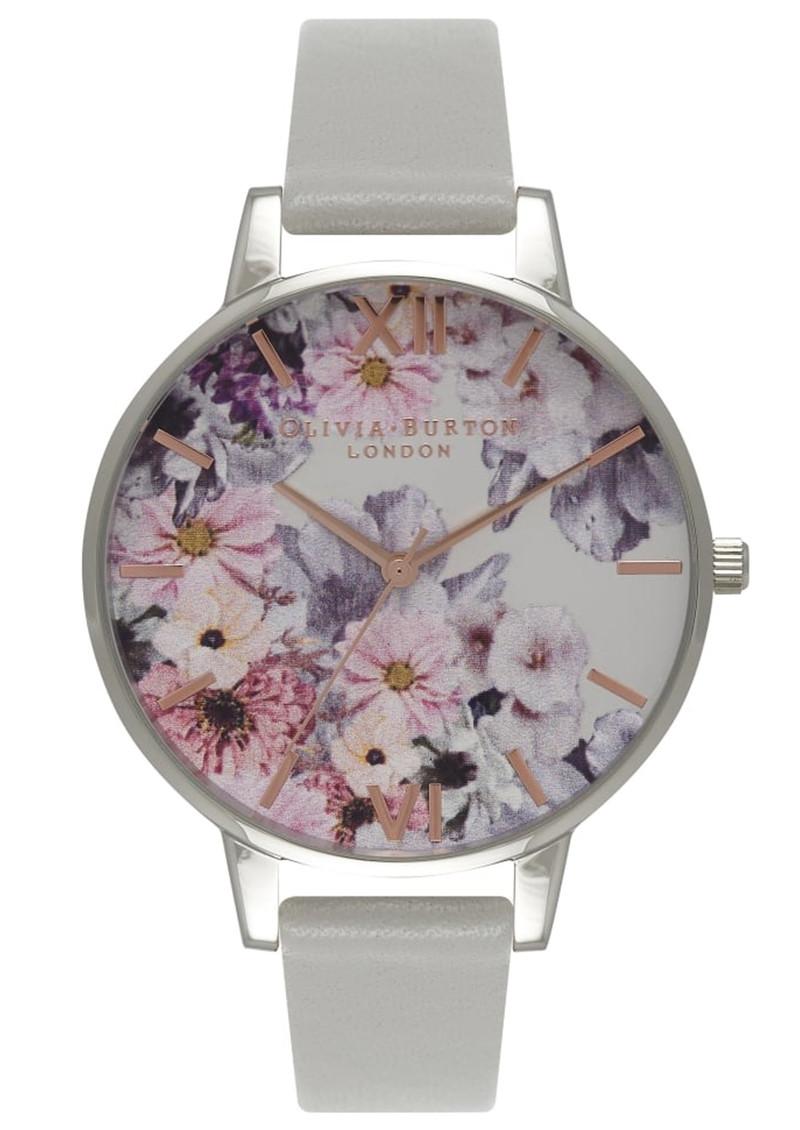 Olivia Burton Enchanted Garden Watch - Grey & Silver main image
