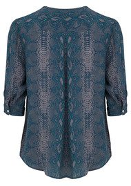 Mercy Delta Parke Python Top - Forest