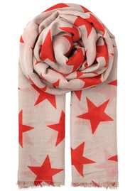Becksondergaard Supersize Nova Scarf - High Risk Red