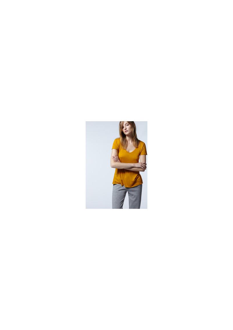 American Vintage Jacksonville Short Sleeve Tee - Charcoal Melange main image