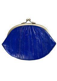 Becksondergaard Granny Eelskin Purse - Sodalite Blue