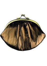 Becksondergaard Granny Eelskin Purse - Chocolate Gold