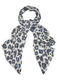 Lily and Lionel Isla Cashmere Mix Scarf - Sky