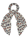 Isla Cashmere Mix Scarf - Tangerine additional image