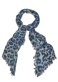 Lily and Lionel Bianca Silk Mix Scarf - Monochrome