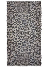Lily and Lionel Bianca Silk Mix Scarf - Stone