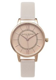 Olivia Burton Wonderland Watch - Blush & Rose Gold
