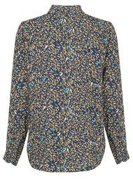 Paul and Joe Sister Bird Shirt - Marine