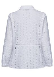 Paul and Joe Sister Camino Blouse - Blanc
