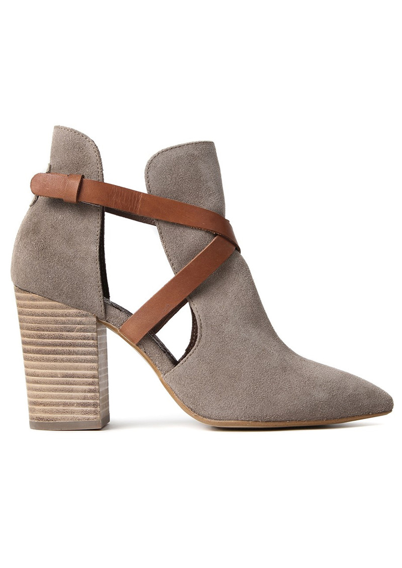 eb43b6a05d685 Hudson London Geneve Suede Ankle Boot - Beige