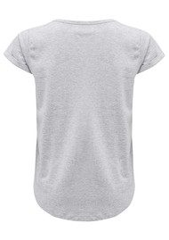 MAISON LABICHE Say My Name Cotton Tee - Gris Chine