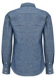 MAISON LABICHE Amour Cotton Shirt - Jean