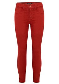 J Brand Anya Cuffed Crop Jeans - Bossa Nova