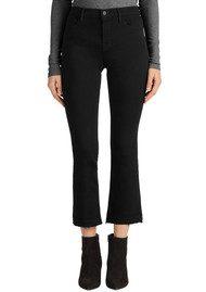 J Brand Selena Mid Rise Boot Cut Jeans - Black Bastille