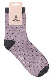 Becksondergaard Dalea Dot Socks - Smokey