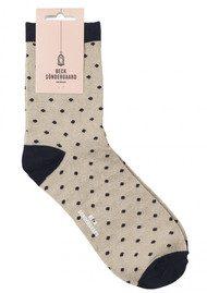 Becksondergaard Dalea Dot Socks - Classic Navy