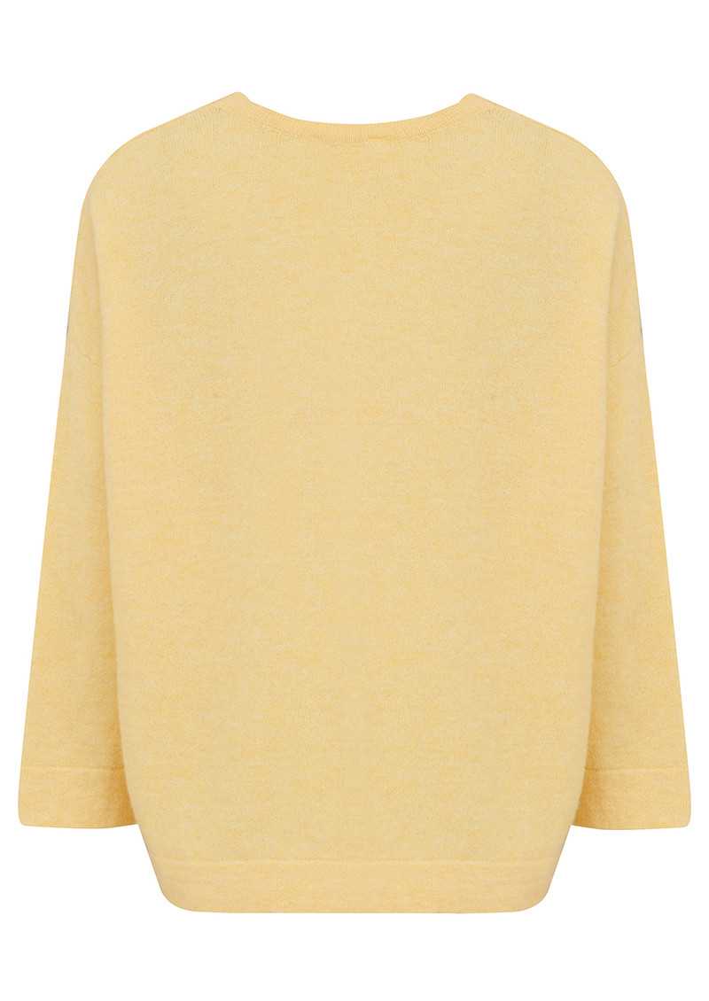 American Vintage Wixtown Oversized Jumper - Scrambled main image