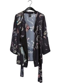 Twist and Tango Story Blouse - Feather Print