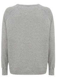 American Vintage Jaguar Sweater - Heather Grey