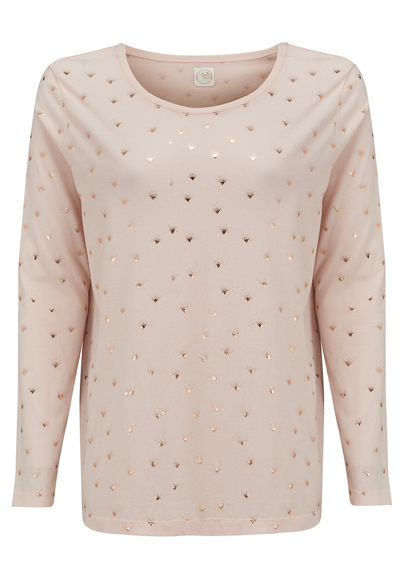 Grigor Long Sleeved T-Shirt - Poudre main image