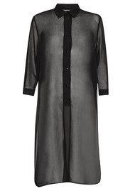 Great Plains Mix and Blend Long Shirt - Black