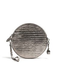 BELL & FOX Round Cross Body Bag - Embossed Croc