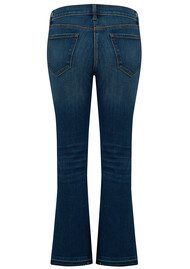 J Brand Selena Mid Rise Boot Cut Jeans - Undertow