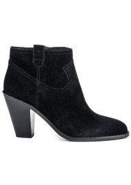 Ash Ivana Prestige Suede Boots - Black
