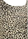 SUNCOO Luna Leopard Top - Beige