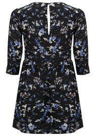 SUNCOO Coste Printed Dress - Blue