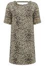 SUNCOO Caleb Printed Dress - Beige