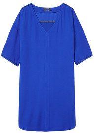 Maison Scotch Tunic Ladder Dress - Royal Blue