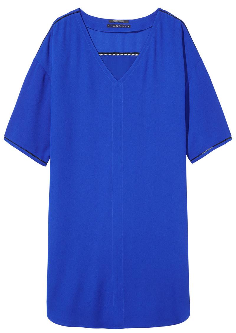 436b3ad6037 Maison Scotch Tunic Ladder Dress - Royal Blue main image ...