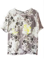 Pyrus Mineral Silk Printed Top - Corona Print