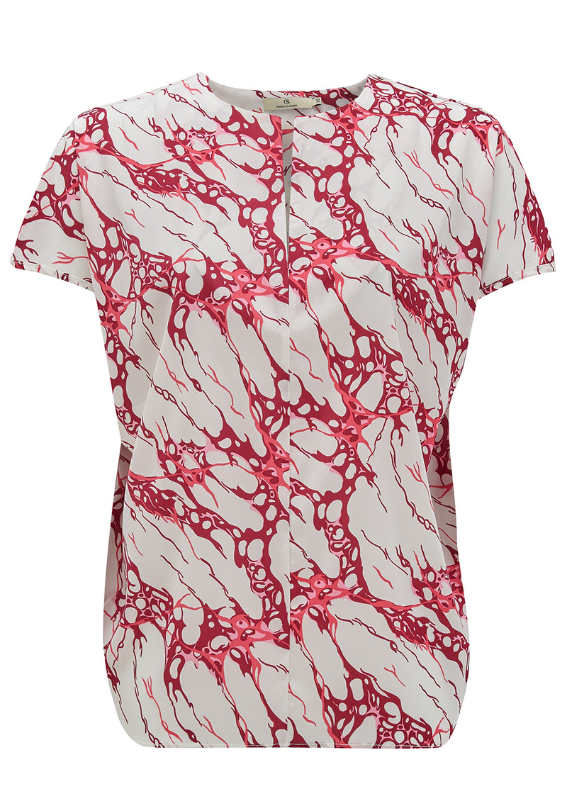 CHARLOTTE SPARRE My Printed Top - Red main image