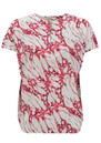 CHARLOTTE SPARRE My Printed Top - Red