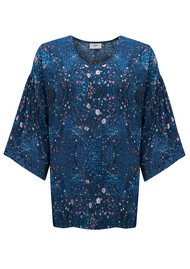 Pyrus Barre Bell Blouse - Nocturne