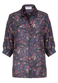 Essentiel Maila Oversized Shirt - Total Eclipse