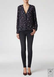 Twist and Tango Legend Blouse - Small Feather