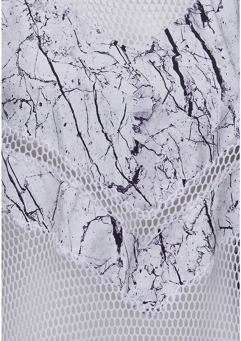 VARLEY Shutters Vest - White Marble main image