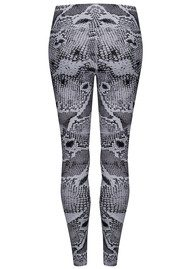 Palms Compression Tight Leggings - Anaconda