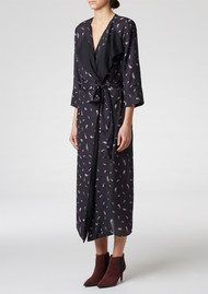 Twist and Tango Legend Wrap Dress - Small Feather