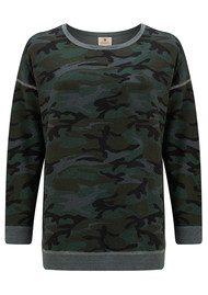 Camo Tunic Pullover - Charcoal Camo