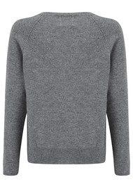 Toucan Cashmere Jumper - Grey