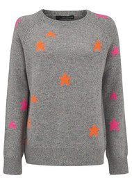 360 SWEATER Ceres Sweater - Festival with Multi Stars