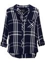 Rails Hunter Shirt - Midnight, White & Pine